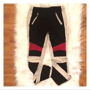 BCBGMaxAzria Pants - BCBGMAXAZRIA Bond Colorblock Leggings